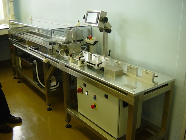 Vein Extruding Machine Trials